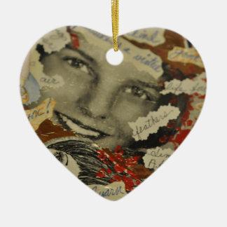 Ornement Cœur En Céramique Produits de collage