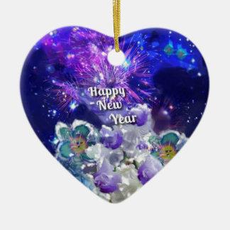 Ornement Cœur En Céramique Regardez comment stupéfier sera la nouvelle année