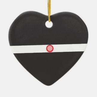 Ornement Cœur En Céramique résumé