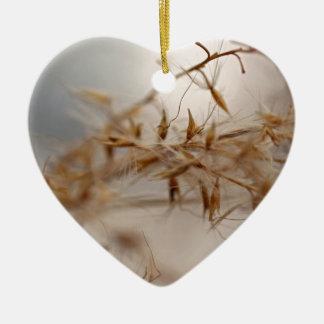 Ornement Cœur En Céramique Secrets dans le vent