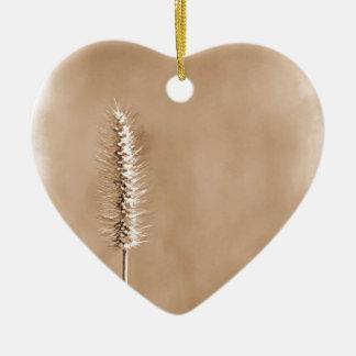 Ornement Cœur En Céramique Simple superbe