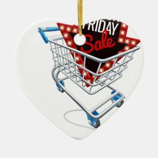 Ornement Cœur En Céramique Souris en ligne d'ordinateur de chariot à vente