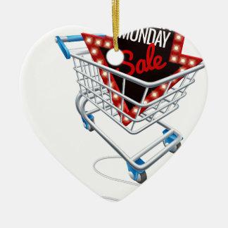 Ornement Cœur En Céramique Souris en ligne d'ordinateur de chariot à vente de