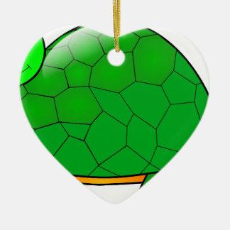 Ornement Cœur En Céramique tortue