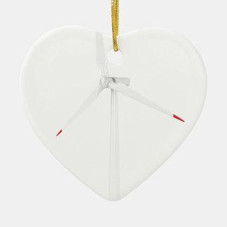 Ornement Cœur En Céramique Turbine de vent moderne