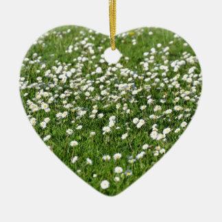 Ornement Cœur En Céramique Un air de printemps