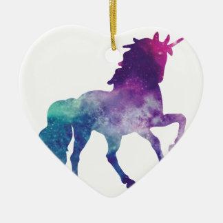 Ornement Cœur En Céramique unicorn-2007266_1920