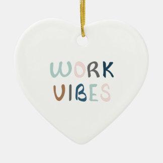 Ornement Cœur En Céramique Vibraphone de propagation de travail