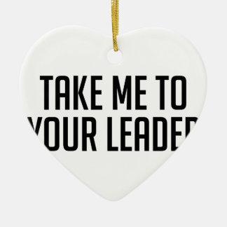 Ornement Cœur En Céramique Votre chef