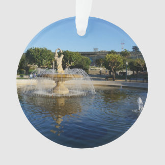 Ornement commémoratif de fontaine de SF Rideout