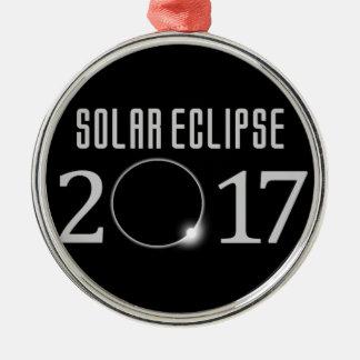 Ornement commémoratif de l'éclipse solaire 2017