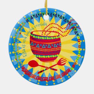 Ornement culinaire mexicain de Noël de bonne