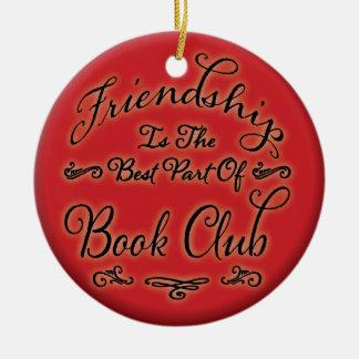 Ornement d'amitié de club de lecture
