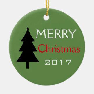 Ornement d'arbre de Joyeux Noël