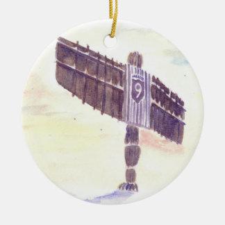 Ornement d'arbre de Noël d'ange de Toon