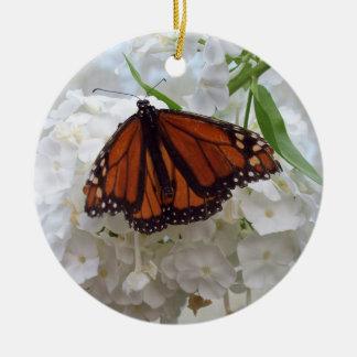 Ornement d'arbre de Noël de papillon