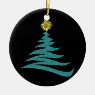 Ornement d'arbre de Noël d'espoir - rond