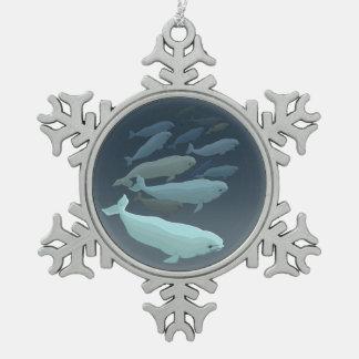 Ornement de baleine personnalisé par ornement de