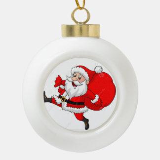 ornement de boule de Noël de père Noël