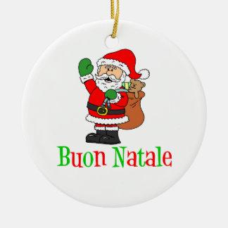 Ornement de Buon Natale Père Noël