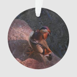 Ornement de canard de mandarine