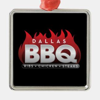 Ornement de carré de prime de BBQ de Dallas