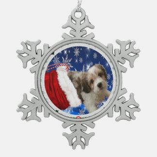 Ornement de Cavachon, Noël