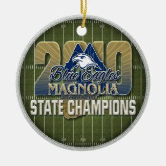 Ornement de champ de champions de la magnolia 2010