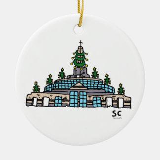 Ornement de chapelle de Noël d'ea