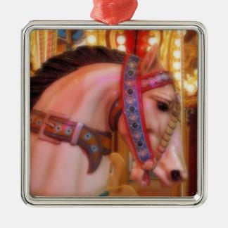Ornement de cheval de carrousel