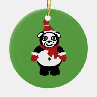ornement de Claus de panda
