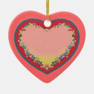 Ornement de coeur
