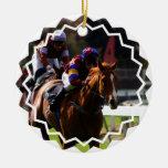Ornement de course de chevaux