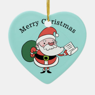 Ornement de coutume de Père Noël et de Mme Claus