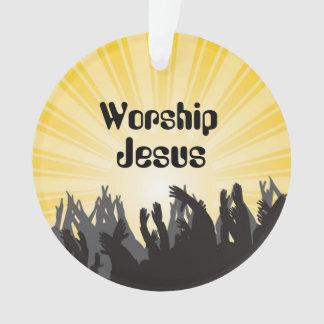 Ornement de coutume de vers de bible de Jésus de