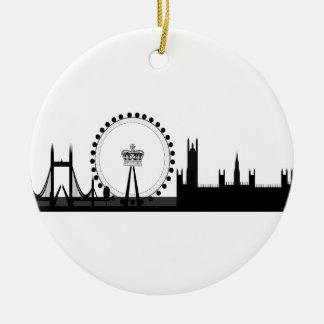 Ornement de décoration d'oeil de Londres