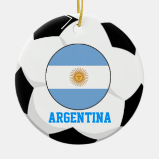 Ornement de fan de foot de l'Argentine coupe du