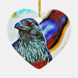 Ornement de fête de vacances de Raven