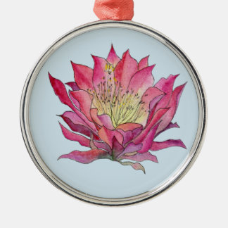 Ornement de fleur d'aquarelle