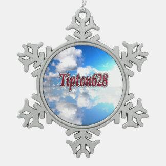 Ornement de flocon de neige de Tipton628
