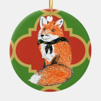 Ornement de Fox Quatrefoil de Gilwell