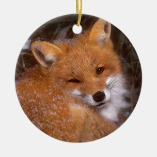 "Ornement ""de Fox rouge"""