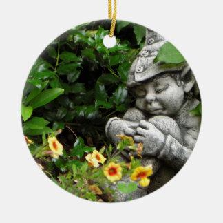 Ornement de gnome de jardin