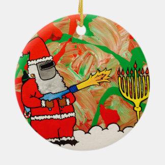 Ornement de Hanoukka de Noël