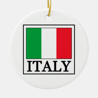 Ornement de l'Italie