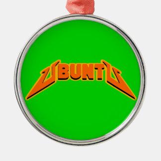 Ornement de logo de parodie de roche d'Ubuntu