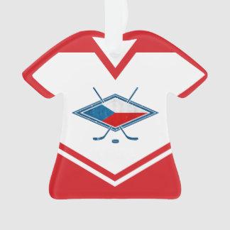 Ornement de logo de République Tchèque du Jersey