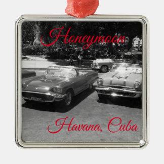Ornement de lune de miel de La Havane Cuba