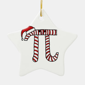 Ornement de maths de Noël pi