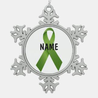 Ornement de mémorial de Cancer de foie